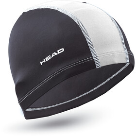 Head Polyester Gorra, black/white